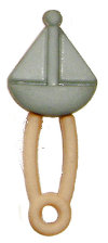 Small Sailboat Dipaer Pin