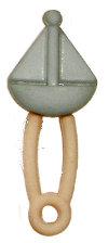 Small Sailboat Dipaer Pin